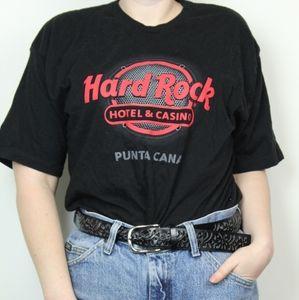 Hard Rock Casino Punta Cana Black T-Shirt